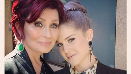 Sharon Osbourne s dcerou Kelly.