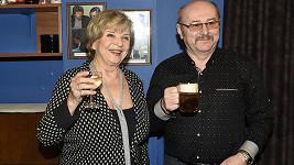 Libuše Švormová s manželem Janem Paterou už řadu let tvoří spokojený pár.
