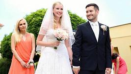 Tereza Janatová s manželem Vaškem Janatou