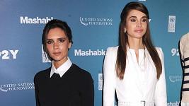 Victoria i královna Ranija se aktivně angažují v chartitativní činnosti.