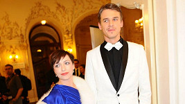 Taťána Vilhelmová a Vojta Dyk