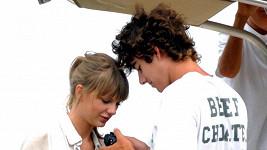 Conor Kennedy se zpěvačkou Taylor Swift.