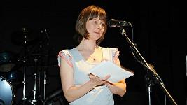 Petra Špalková se na pódiu rozplakala.