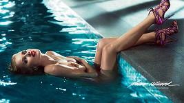Eva Herzigová na další fotce z nové kampaně pro Briana Antwooda