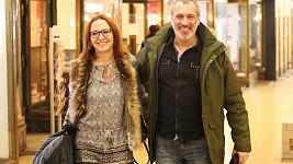 David Suchařípa s přítelkyní