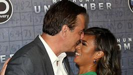 Chris Noth s manželkou Tarou Wilson
