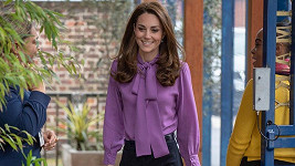 Vévodkyně Kate na návštěvě dětského centra v Londýně