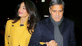 George Clooney s manželkou Amal v New Yorku