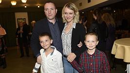 Dcera Karla Gotta Lucie s manželem a dětmi