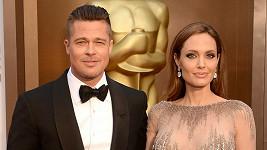 Angelina a Brad