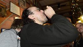 Marian Vojtko pil jednoho panáka za druhým.