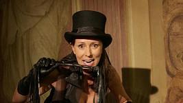 Heidi Janků na vystoupení.