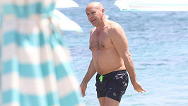 Billy Zane na dovolené na Mykonosu