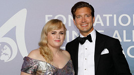 Rebel Wilson s partnerem Jacobem Buschem