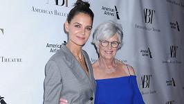 Katie Holmes s maminkou Kathleen.