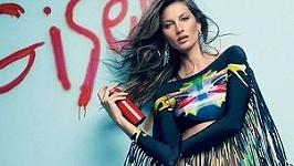 Gisele Bündchen pro brazilský Vogue.