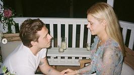 Brooklyn Beckham se snoubenkou Nicolou Peltz