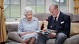 Královna Alžběta II. a princ Philip