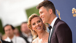Scarlett Johansson s manželem Colinem Jostem