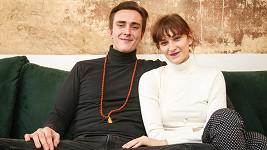Bára Jánová a její přítel Vítězslav Bečka