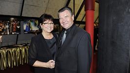 Václav Postránecký s manželkou.