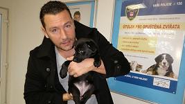 Michal Janotka se svým psím miláčkem