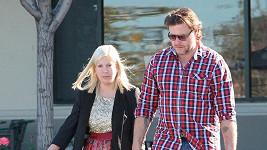 Tori Spelling a její manžel na sklonku loňského roku.