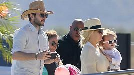 Christina Aguilera s Matthewem a jejich dcerou vyrazili do slunného Mexika.