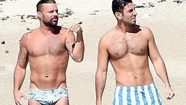 Ricky Martin a Jwan Yosef v Mexiku