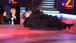Kateřina Baďurová s tanečníkem měli nehodu.