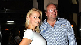 Ornella Štiková s otcem Michalem Štikou