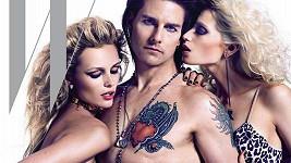 Tom Cruise nafotil obálku magazínu W s hodně rajcovními modelkami.