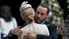 James Middleton a Donna Air