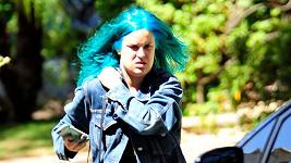 Nové vlasy Tallulah Willis připomínají paruku na karneval.