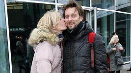 Kristina Kloubková s přítelem Václavem Kunešem