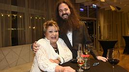 Jiřina Bohdalová s vnukem