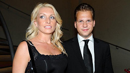 Martin Chodúr s přítelkyní Ivonou.