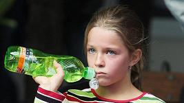Dcera Kateřiny Neumannové Lucie je nadšenou sportovkyní.