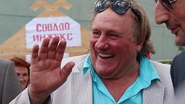 Gerard Depardieu už je v Rusku jako doma.