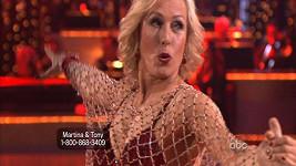 Martina Navrátilová tančila jive.
