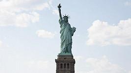 Britka se zamilovala do sochy Svobody.