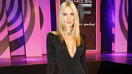 Kateřina Průšová na finále Miss Face 2016