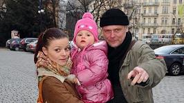 Igor Bareš s manželkou a dcerou