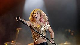 Při koncertech to Shakira dokáže pořádně rozjet.