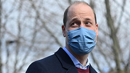 Princ William prolomil mlčení.