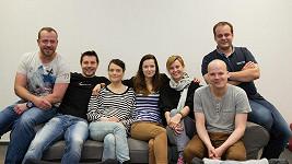 Kryštof Hádek s ostatními protagonisty hry