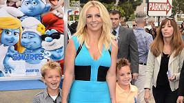Britney Spears se syny Jaydenem a Seanem