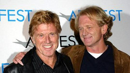 James Redford s otcem Robertem