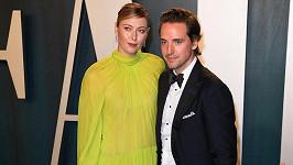 Maria Šarapovová a Alexander Gilkes oznámili zásnuby.