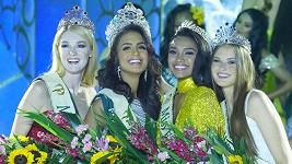 Stále ještě úřadující vítězky Miss Earth 2019.